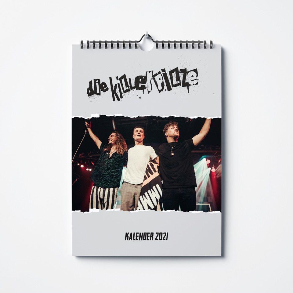 Killerpilze KILLERPILZE KALENDER 2021 / PREORDER Calendar