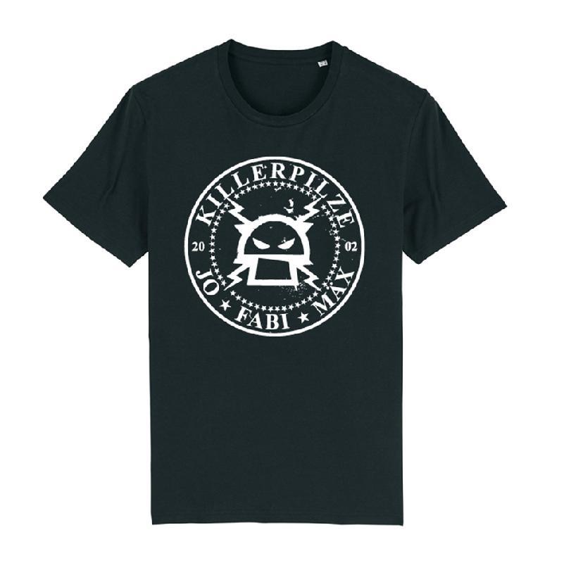 Killerpilze Kreislogo T-Shirt Schwarz