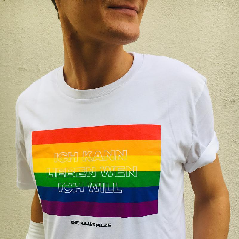 Killerpilze Lieben Wen Ich Will T-Shirt Weiss